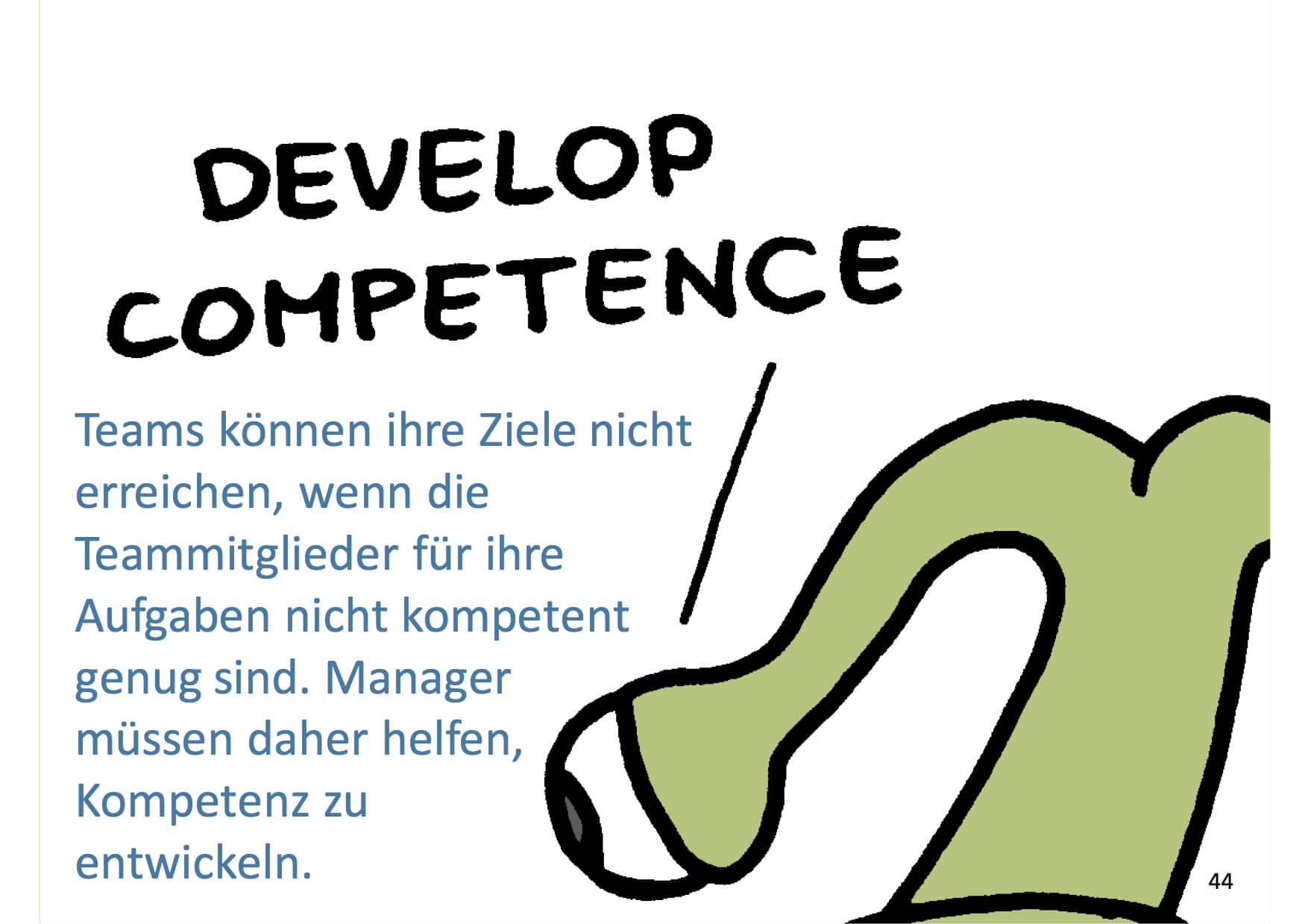 Management 3.0 Develop Competence