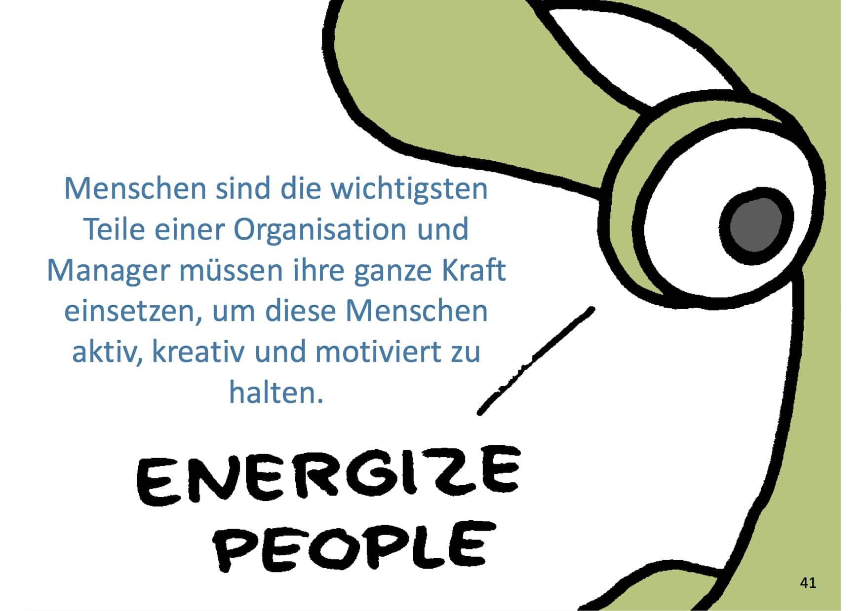 Management 3.0 Energize People